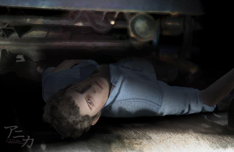 Dawson hiding