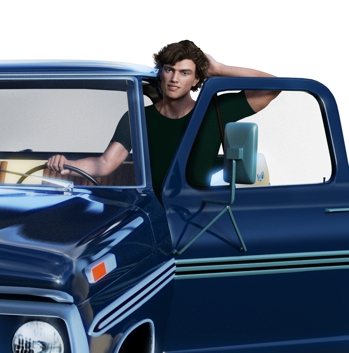 Danny and his truck